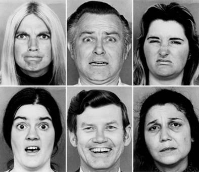 Expressions faciales reconnaissance du genre